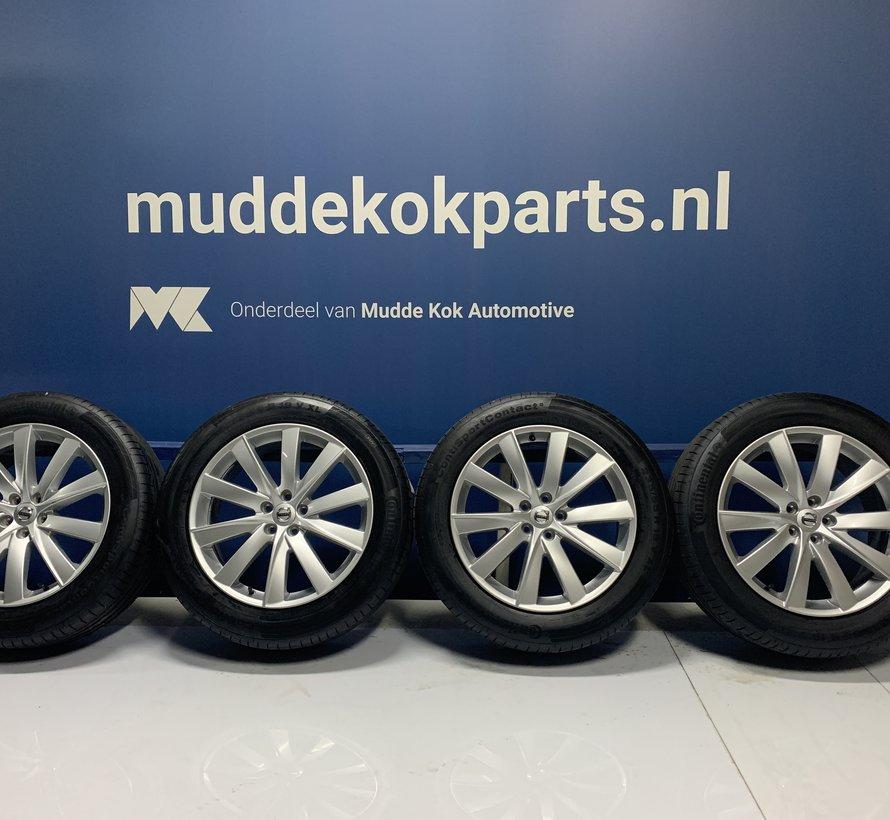 Volvo 19 inch turbine velgen + Zomerbanden  XC90 ll