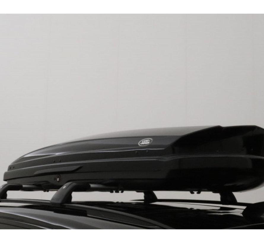 Dakkoffer/bagagebox Landrover Discovery Sport 410 liter inclusief dakdragers