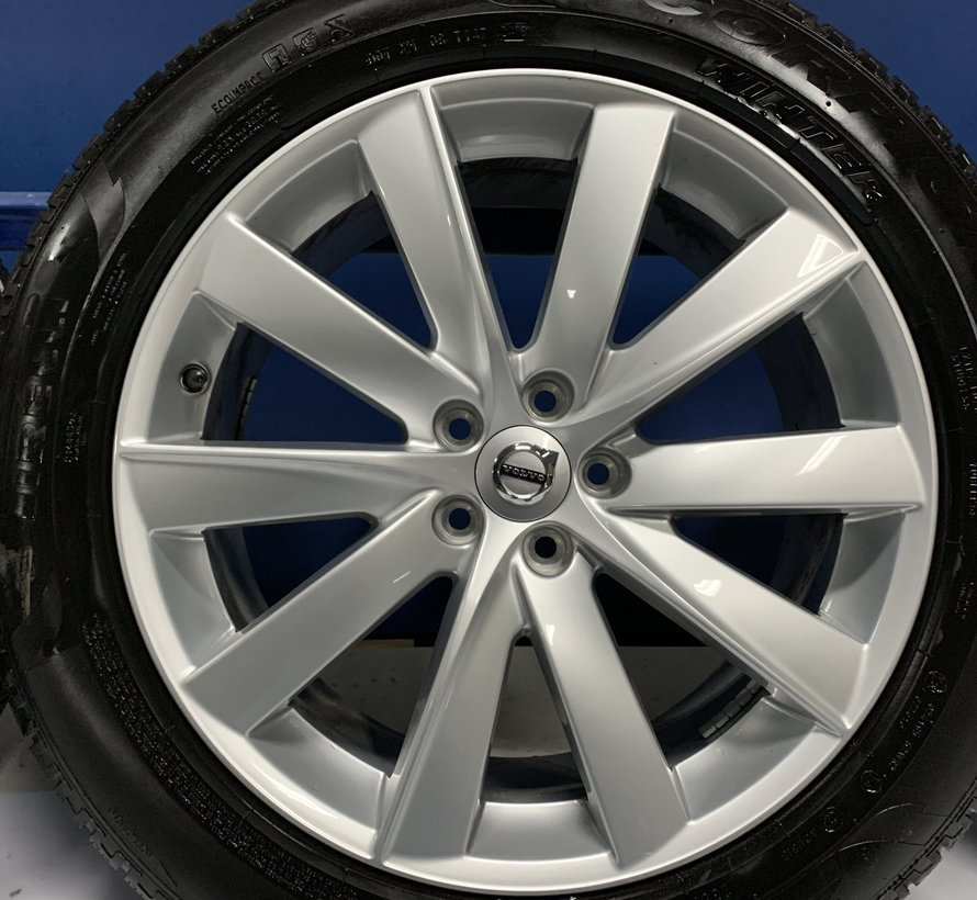 Volvo 19 inch 10-spaaks Turbine Silver velgen + winterbanden XC90  2015-