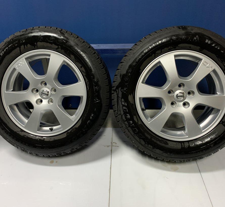 Volvo 17 inch Segin velgen + winterbanden XC60 l tot 2017