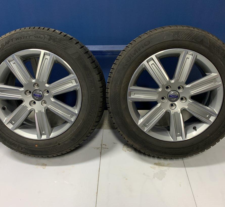 Volvo 18 inch Leda velgen + Winterbanden XC60 tot 2017