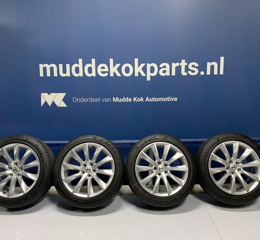 Volvo 18 inch turbine velgen + winterbanden S90 / V90