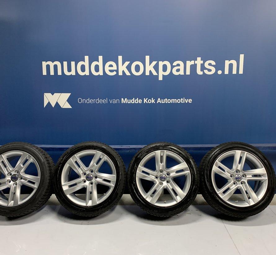 Volvo 17 inch Sadia velgen + Winterbanden V60 / PIH / S60 / V70 / S80 gereserveerd