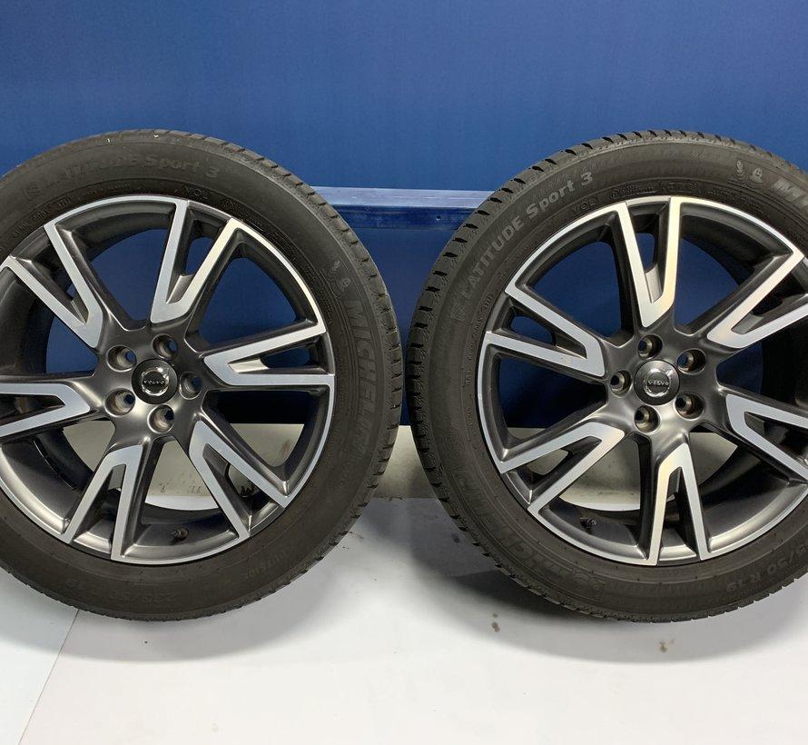 Volvo 19 inch velgen + zomerbanden XC40 / V90 CC