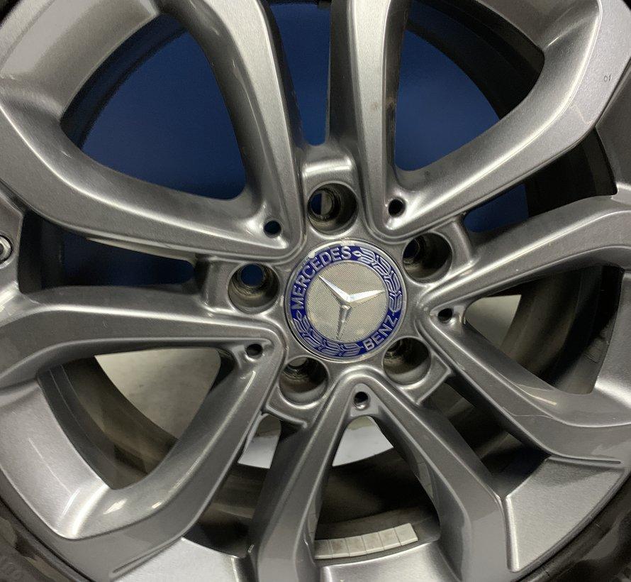 Mercedes C Klasse W205 17 inch velgen + zomerbanden