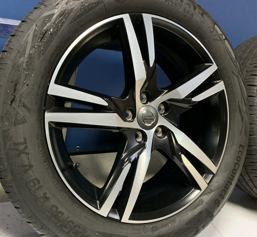 Volvo 19 inch R-design velgen + zomerbanden XC60 2017-