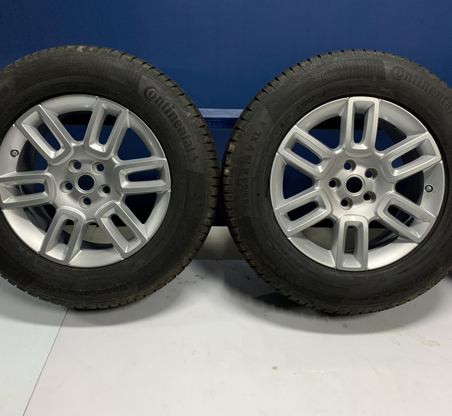 Land Rover Defender 19 inch STYLE 6010, 6 SPAKEN velgen + Winterbanden