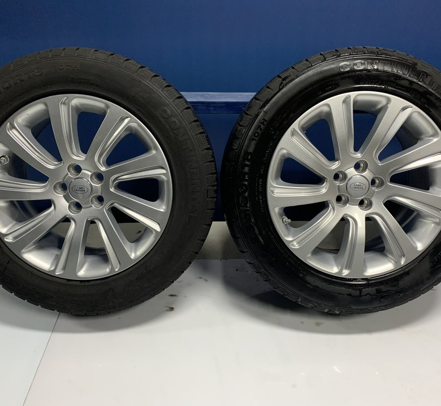 Land Rover Discorvery sport 18 inch velgen  STYLE 5075 + Winterbanden.
