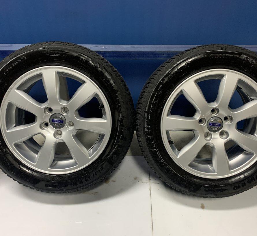 Volvo 16 inch Oden velgen + Winterbanden  V70 / S80 / V60 / S60