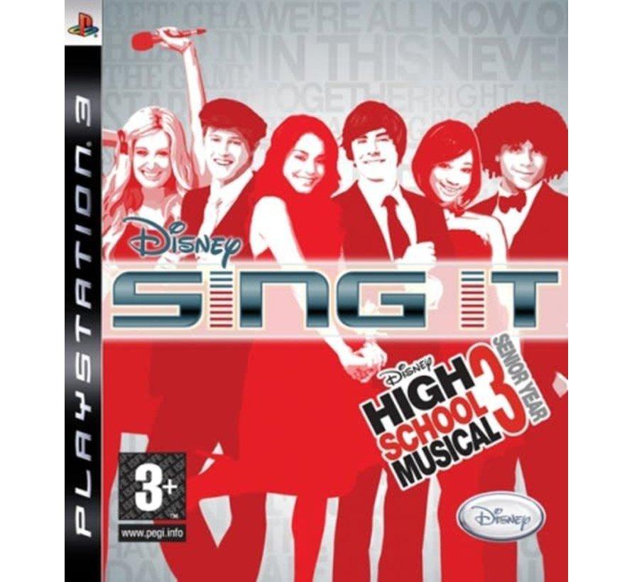 Disney: Sing It High School Musical PS3