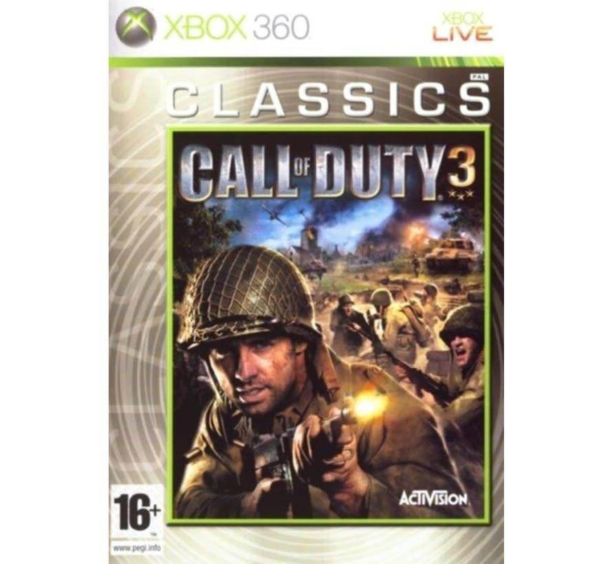 Call Of Duty 3 - Classic Edition - Xbox 360