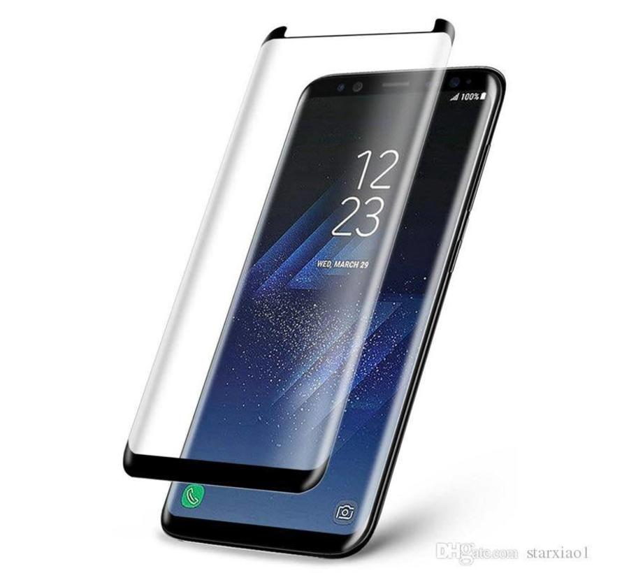 Small Glass Protector 3D Curved Galaxy S8 Plus