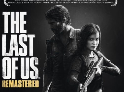 PS4 The last of us remastered PS4