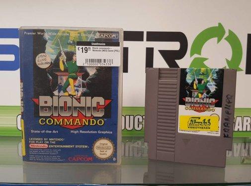 Nintendo Bionic commando- Nintendo [NES] Game [PAL]