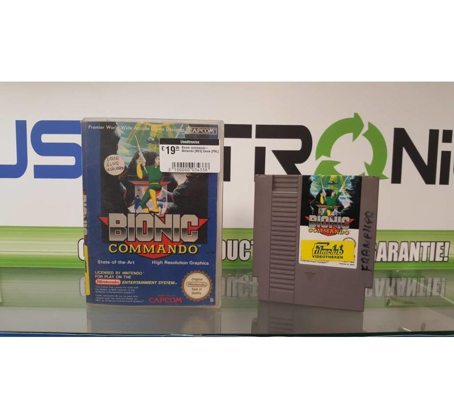 Bionic commando- Nintendo [NES] Game [PAL]