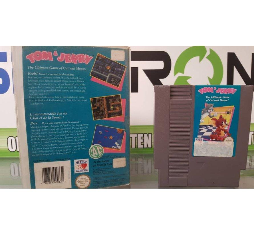 Tom and Jerry- Nintendo [NES] Game [PAL]