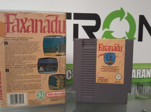 Faxanadu [NES] Game [PAL]
