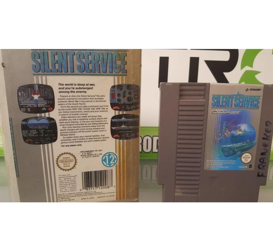Silent Service- Nintendo [NES] Game [PAL]