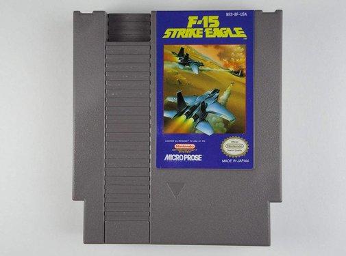 F-51 STRIKE EAGLE NES