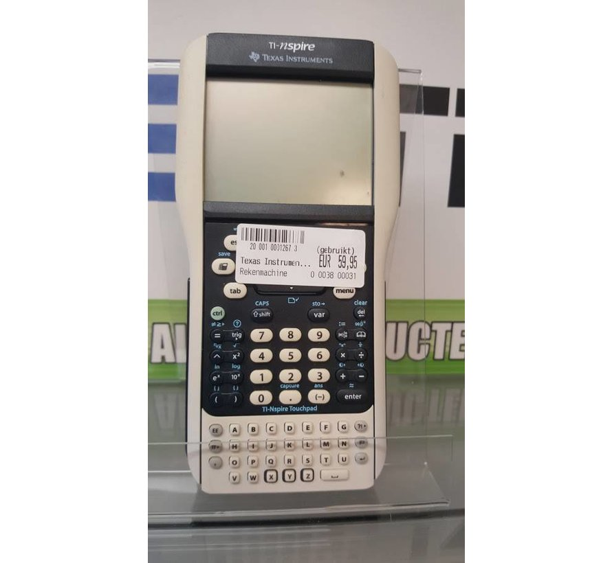 Texas instuments rekenmachine TI- NSPIRE