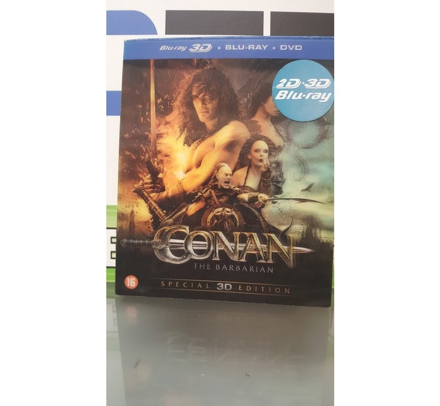 Conan The Barbarian | 3D Blu-Ray