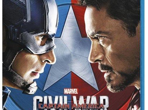 Captain America Civil War   3D Blu-Ray