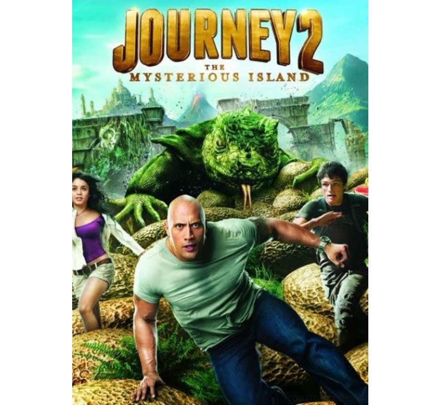 Journey 2 Blu-Ray 3D
