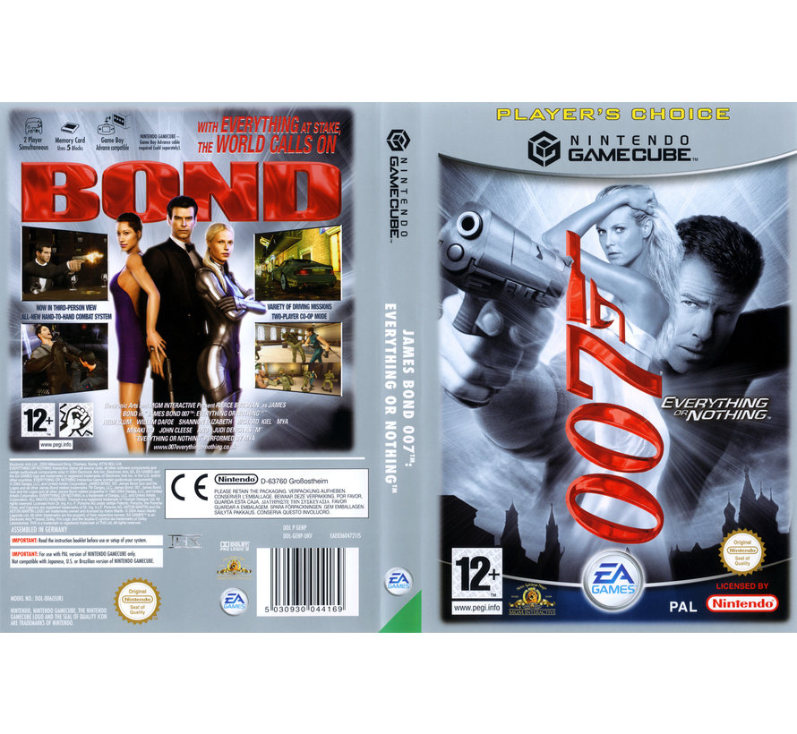 007 Game Cube
