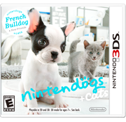 French Bulldog and New friends Nintendo 3DS