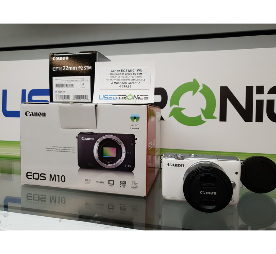 Canon EOS M10 WIT + Canon EF-M (3248)