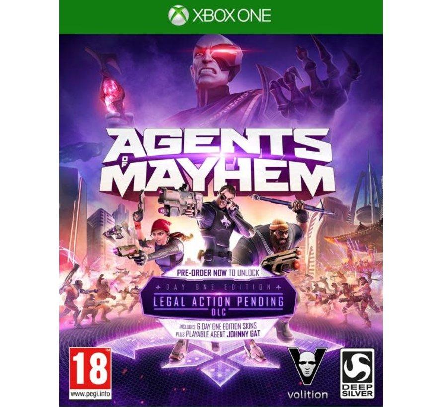 Agents Mayhem Xbox One