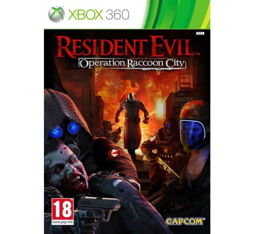 Resident Evil Operation Racoon City - Xbox 360
