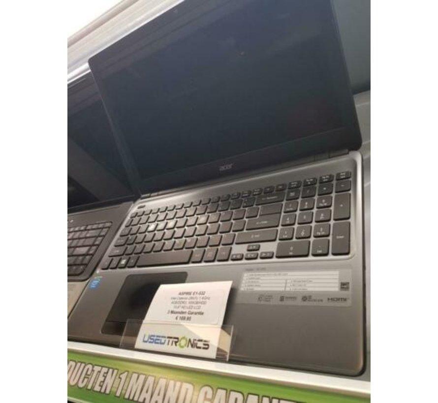 ACER Aspire E1 532 500GB Intel celeron 4.00 GB/RAM 1,40Ghz