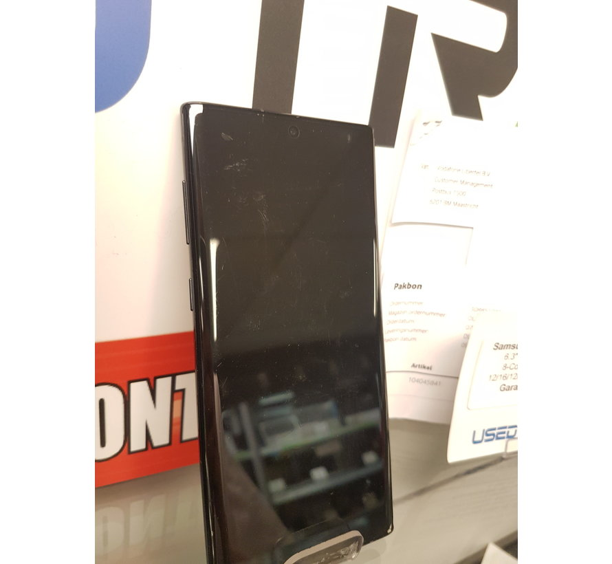 Samsung Galaxy Note 10 - Garantie t/m: 07-12-2021 (5285)