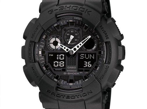 INKOOP CONSUMENT CASIO - GA-100-1A1ER - G-Shock - horloge - Mannen - Zwart - Kunststof Ø 50 mm