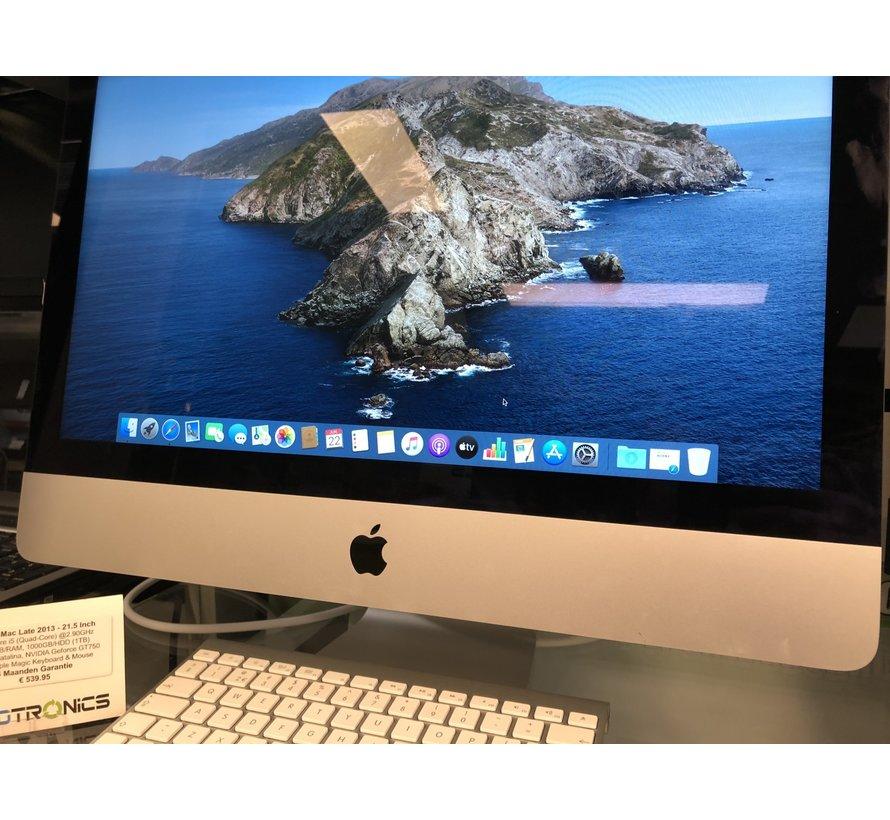 Apple iMac Eind 2013 - Intel Core i5 | 8GB/RAM | 1TB/HDD  (5471)