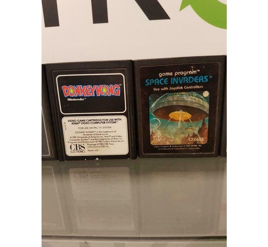 Donkey Kong  & Pac Man Atari 2600
