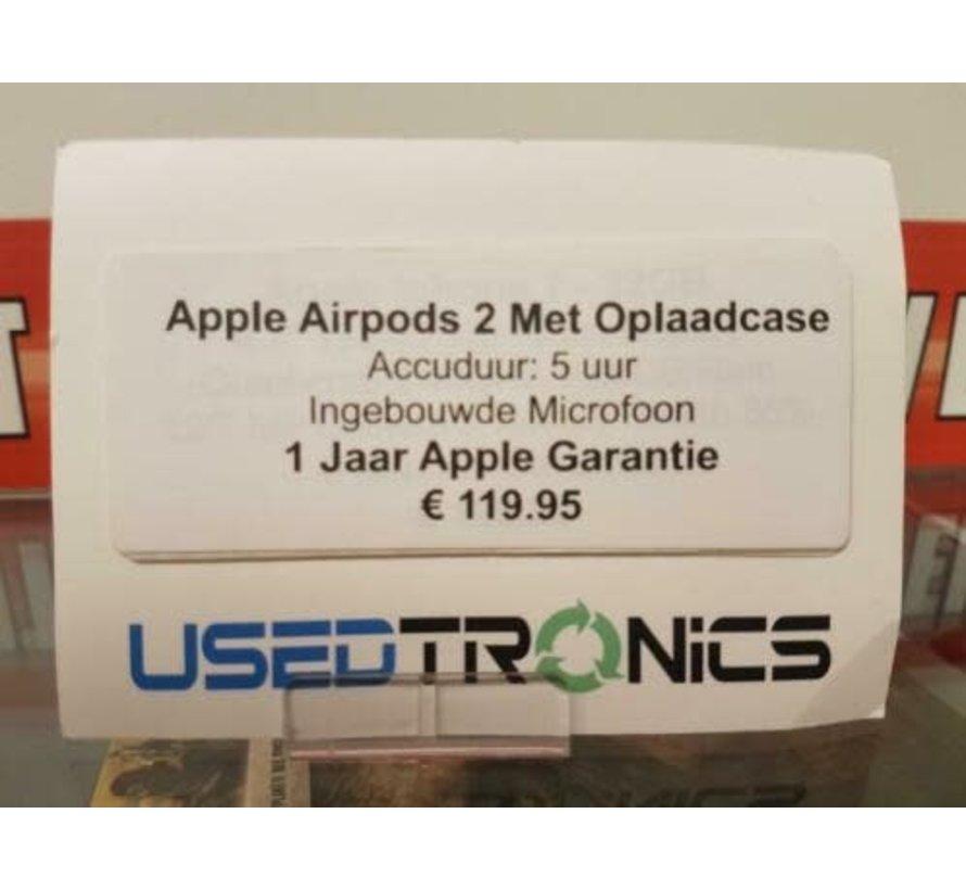 Apple Airpods 2 - NIEUW GESEALD IN DOOS  (6036/6037/6038)