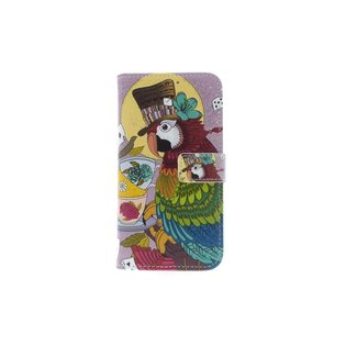 xlmobiel.nl Huawei  P10 Lite Pasjeshouder Print Booktype hoesje - Magneetsluiting
