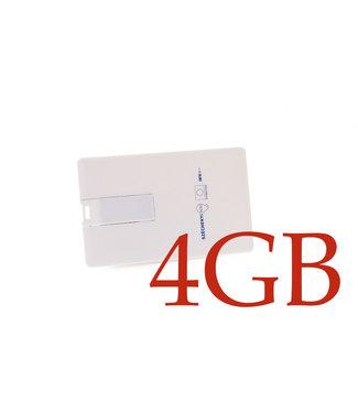 xlmobiel.nl USB Stick 4GB - Wit (8719273145906 )