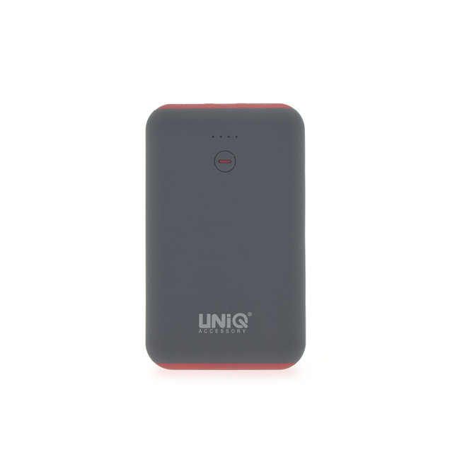 Powerbank Rood 7500 mAh (inclusief kabel) - Soft Touch Serie