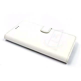Samsung Galaxy A5 (2016) Pasjeshouder Wit Booktype hoesje - Magneetsluiting - Kunststof;TPU