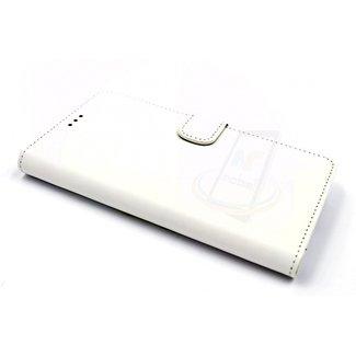xlmobiel.nl Samsung Galaxy A5 (2016) Pasjeshouder Wit Booktype hoesje - Magneetsluiting