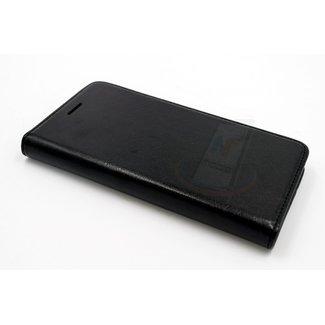 xlmobiel.nl Samsung Galaxy J5 (2015) Pasjeshouder Zwart Booktype hoesje - Magneetsluiting