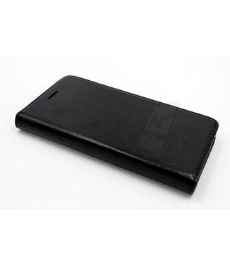 xlmobiel.nl Samsung Galaxy J5 (2015) Pasjeshouder Zwart Booktype hoesje - Magneetsluiting - Kunststof;TPU