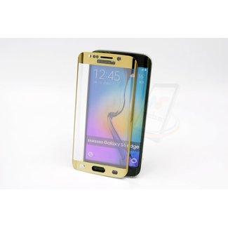 xlmobiel.nl Samsung Galaxy S6 Edge - Glas Screen protectors - Goud (8719273209202)