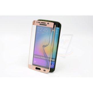 xlmobiel.nl Samsung Galaxy S6 Edge - Glas Screen protectors - Rose Gold (8719273209233)