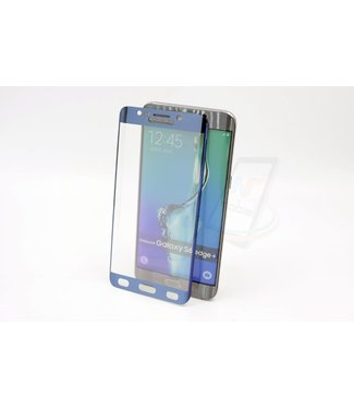 xlmobiel.nl Samsung Galaxy S6 Edge Plus - Glas Screen protectors - Blauw (8719273209271)
