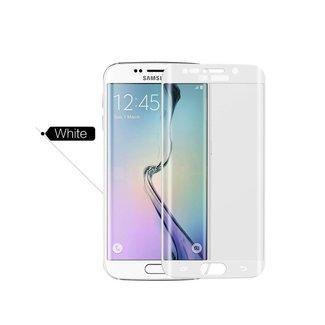 Samsung Galaxy S6 Edge Plus - G928T - Glanzend  Glas Screen protectors - Wit