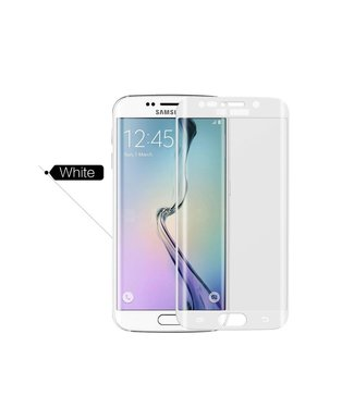 xlmobiel.nl Samsung Galaxy S6 Edge Plus - G928T - Glanzend  Glas Screen protectors - Wit